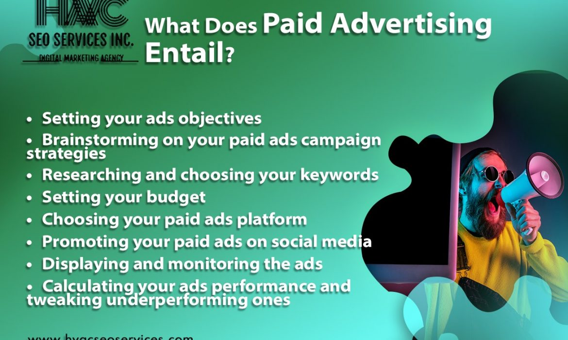 What Does Paid Advertising Entail?